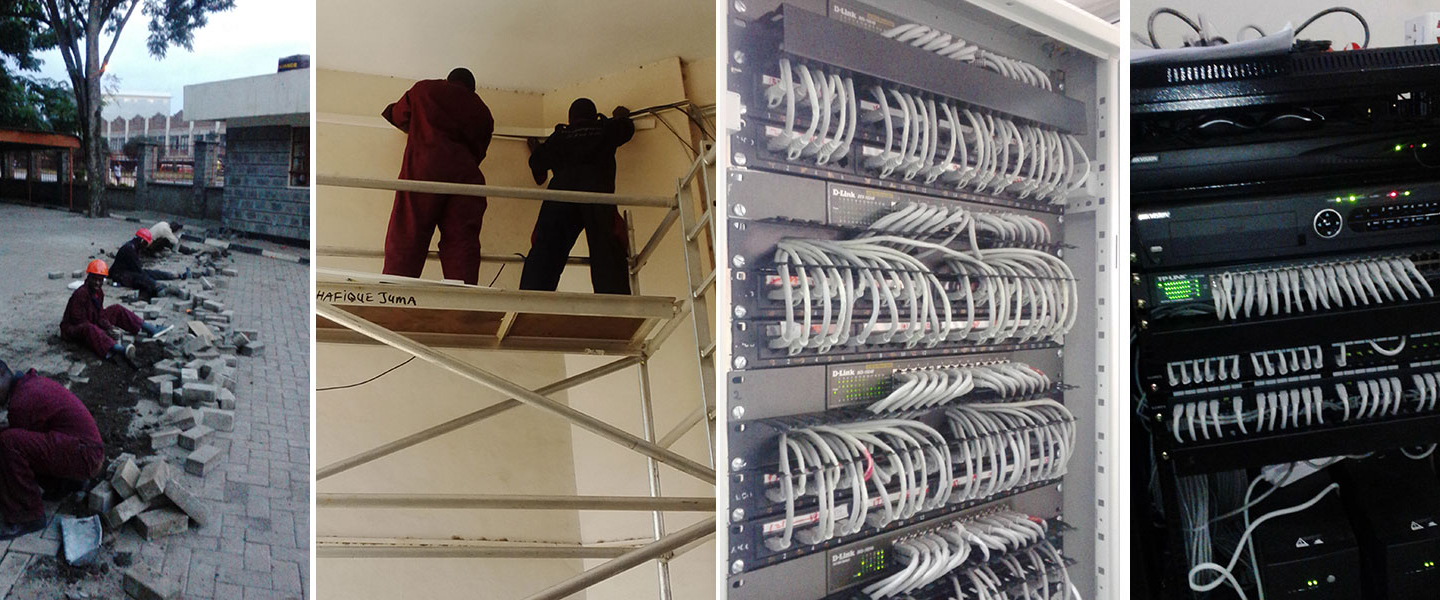 Consult us for cabling at your business premises